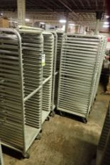 Lot 51 - Aluminum bakery rack {Located in Indianapolis, IN}