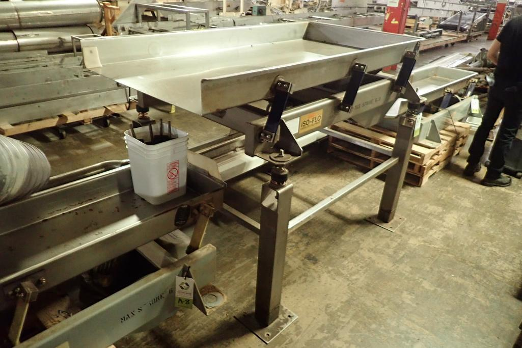 Lot 9 - Key iso-flo vibrator conveyor {Located in Indianapolis, IN}