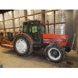 """ZETOR 10540 DIESEL TRACTOR WITH 4.2L 4 CYLINDER ENGINE, 65"""" REAR TIRES, ENCLOSED CAB, RADIO, CLIMATE"""