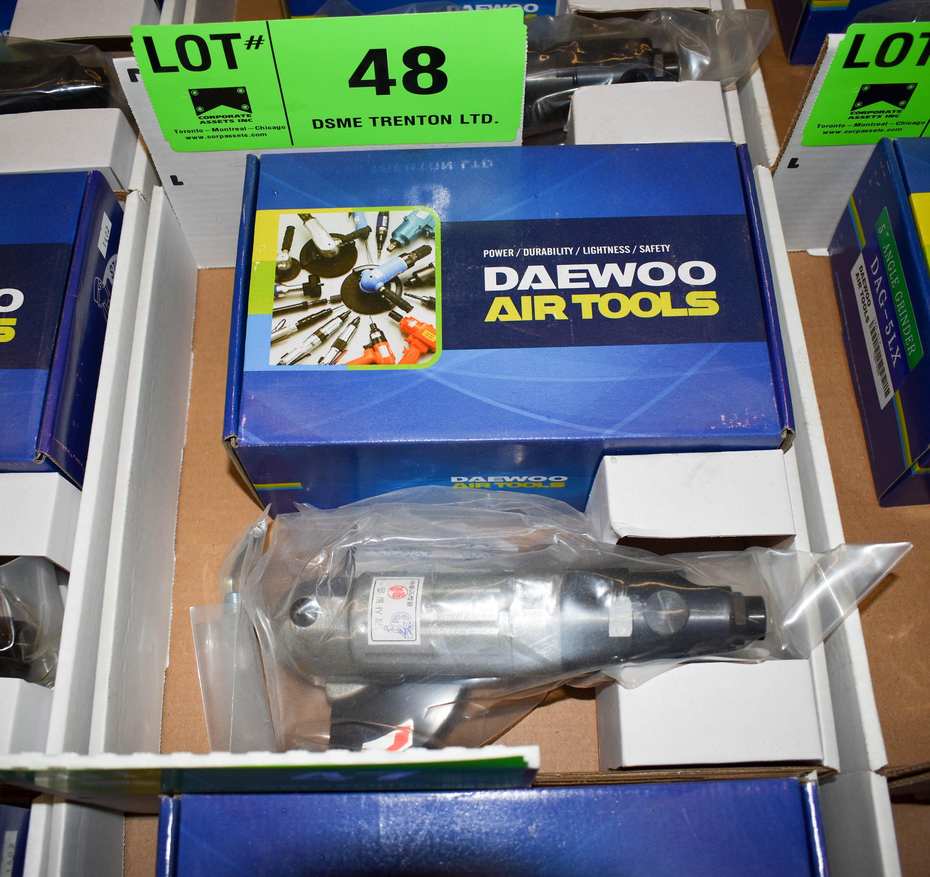 "Lot 48 - DAEWOO DAG-5LX 5"" PNEUMATIC ANGLE GRINDER"