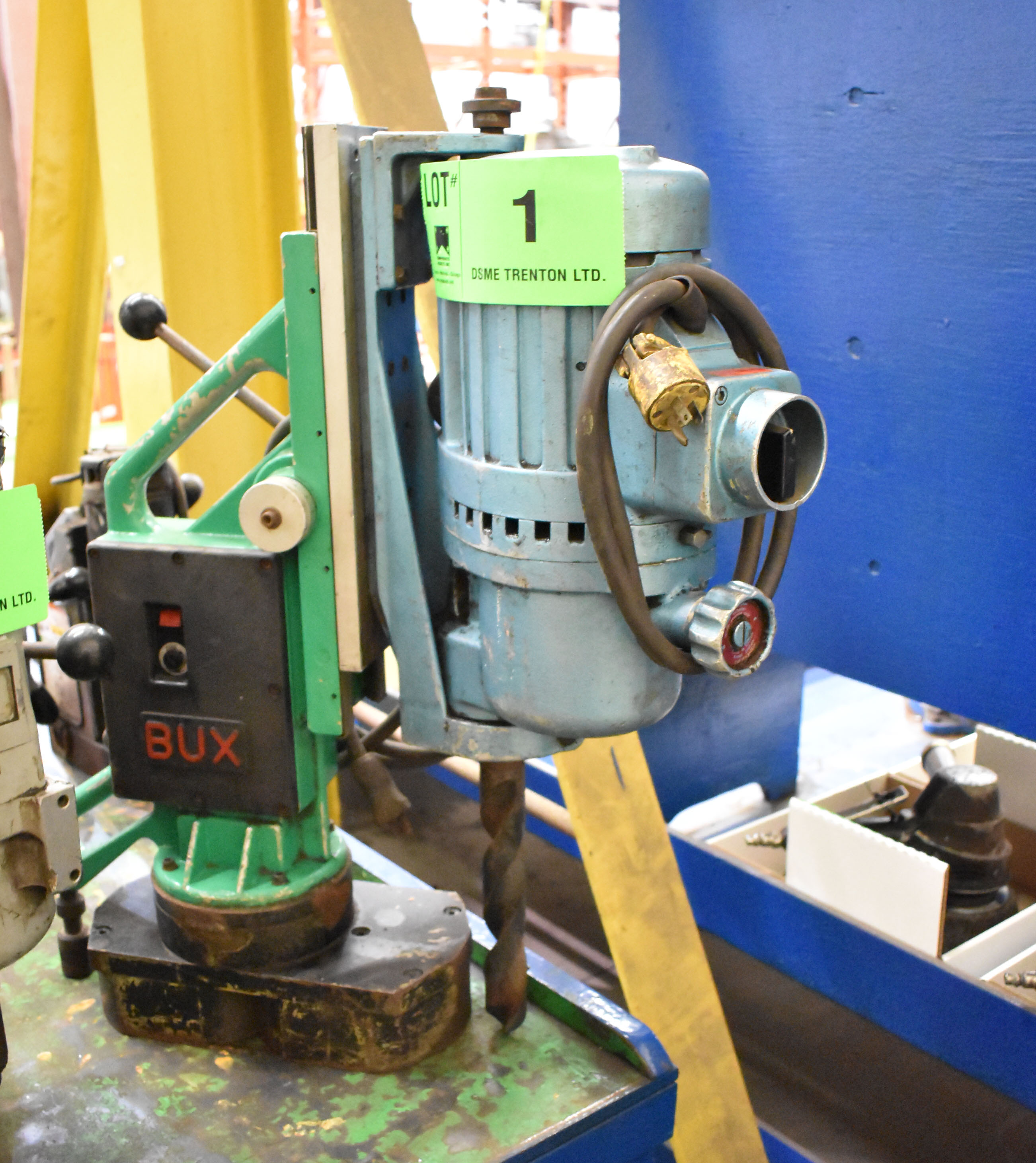 Lot 1 - BUX WALTER D-50-B MAGNETIC BASE DRILL