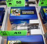 "Lot 50 - DAEWOO DAG-5LX 5"" PNEUMATIC ANGLE GRINDER"