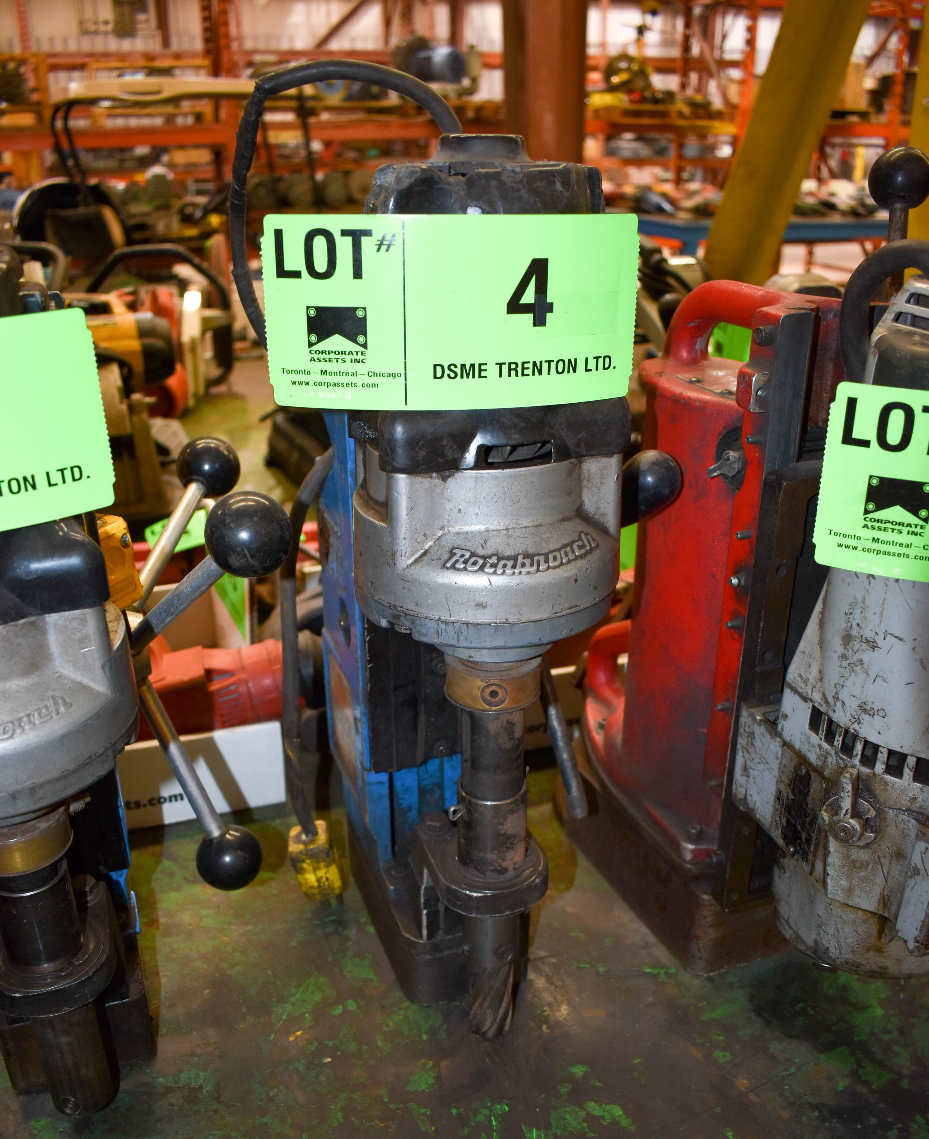 Lot 4 - ROTABROACH MAGNETIC BASE DRILL