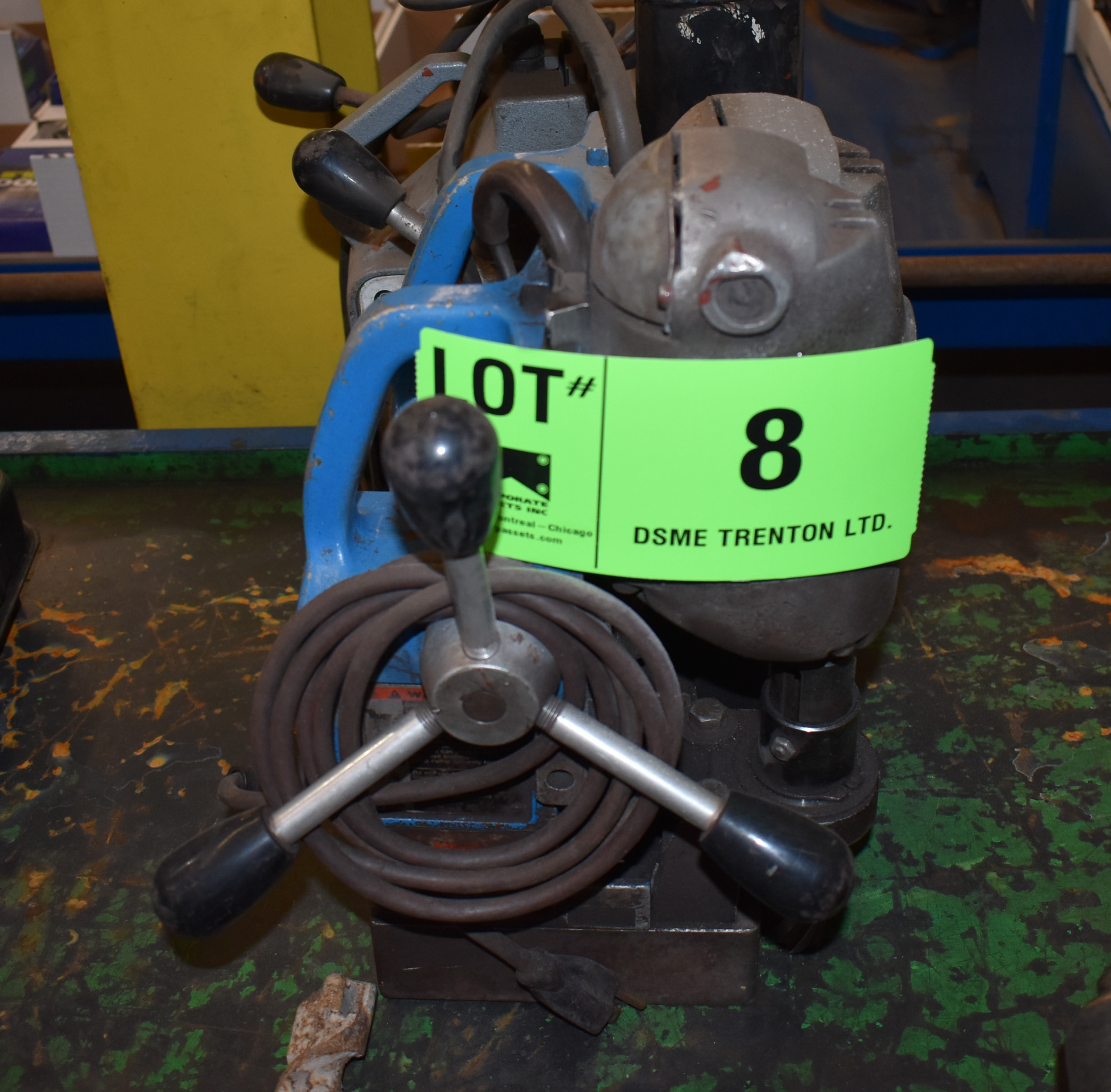 Lot 8 - LOT/ MAGNETIC BASE DRILLS (PARTS)