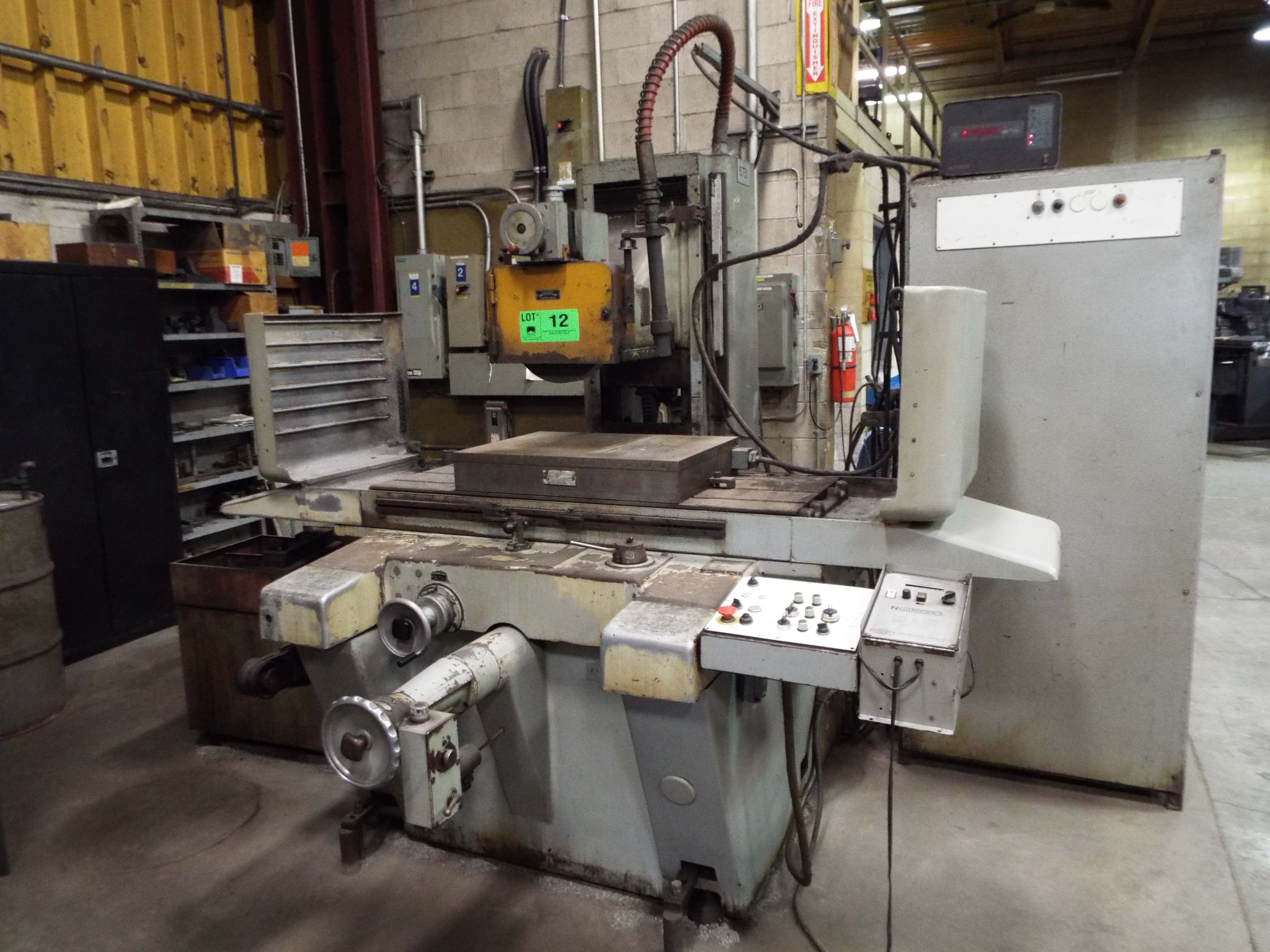 Surplus to the Ongoing Needs of Comber Tool & Mold