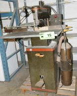 Lot 15 - CHALLENGER HEAVY DUTY FLOOR TYPE ELECTRIC STITCHER, S/N N/A