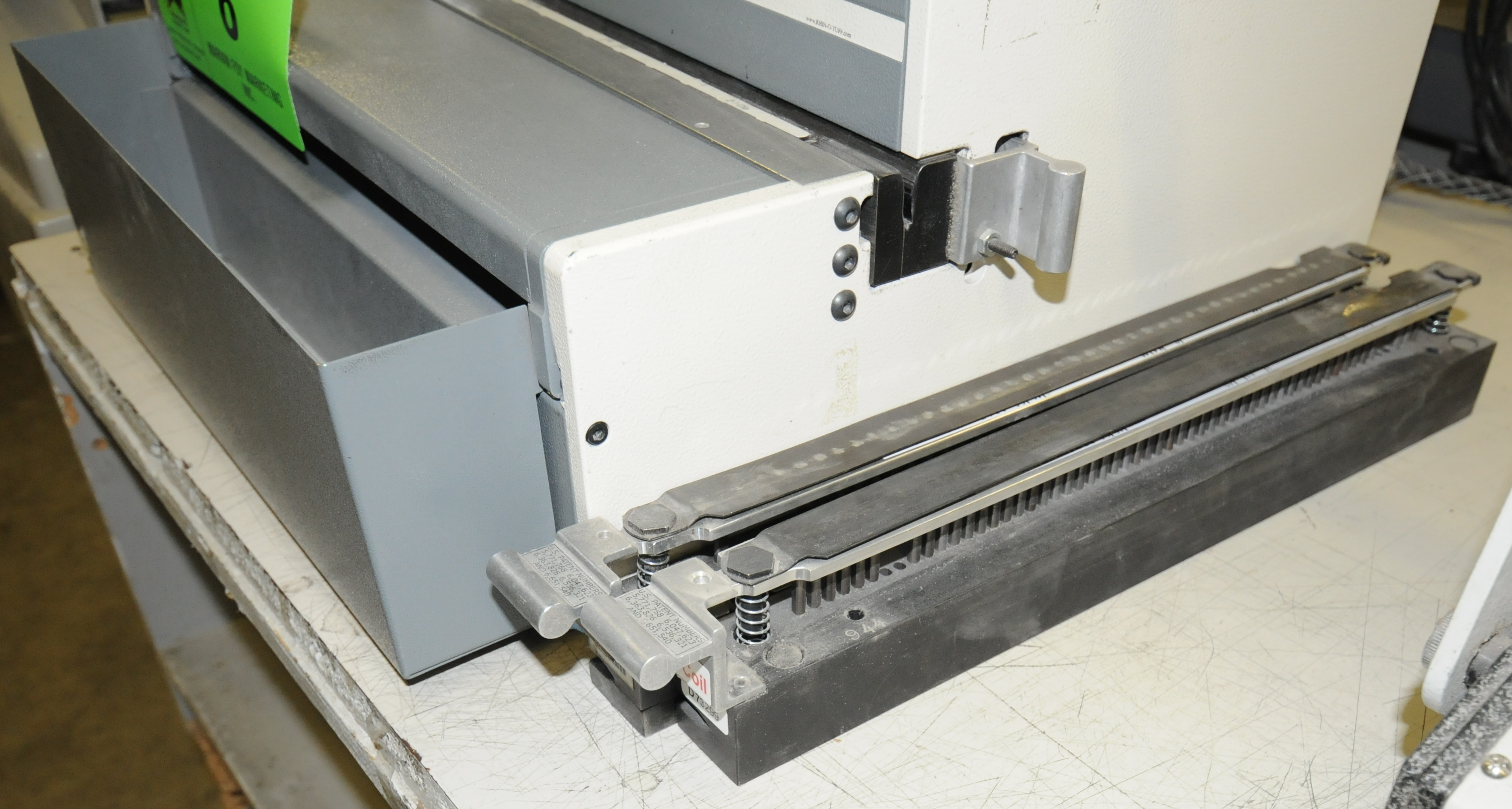 """Lot 8 - RHIN-O-TUFF HD6500 HEAVY DUTY BENCH TYPE ELECTRIC OPEN ENDED PUNCH WITH 14"""" OPEN ENDED PUNCHING"""