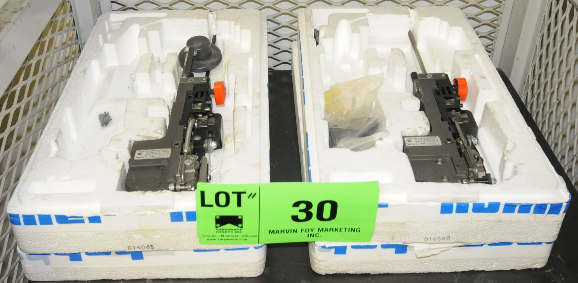 Lot 30 - LOT/ (2) SPARE STITCHING HEADS