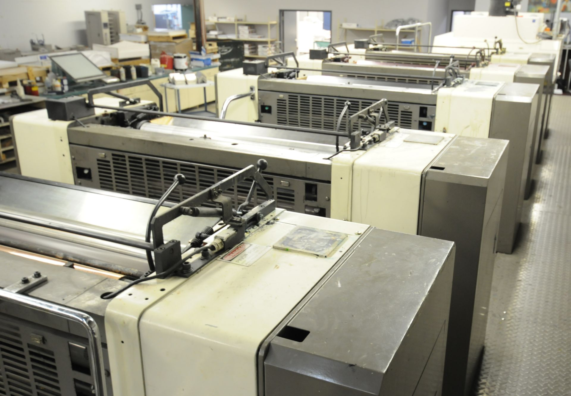 """Lot 20 - MITSUBISHI (2000) 3FR-5 (5) COLOR, 40""""X28"""" SHEET-FEED OFFSET PERFECTOR PRESS WITH FULLY INTEGRATED"""