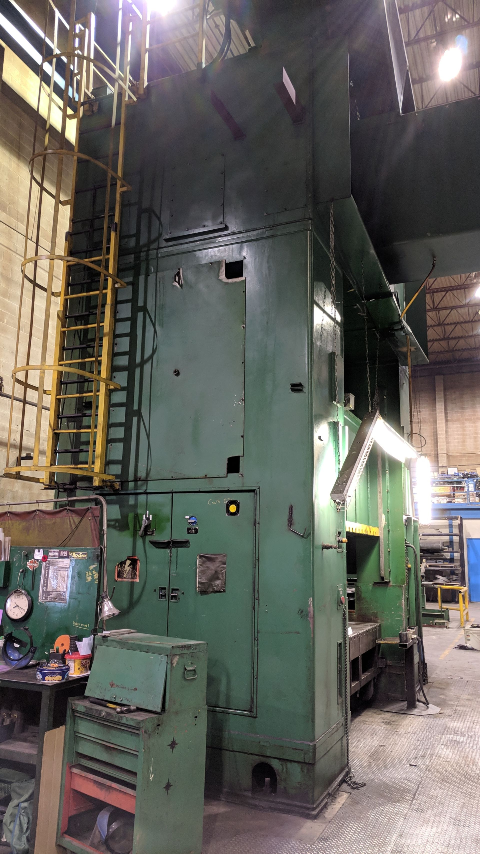 """Lot 4 - BLISS SE4-600-108X72 600 TON CAPACITY STRAIGHT SIDE PRESS WITH MAGELIS 2000 PLC CONTROL, 108""""X72"""""""