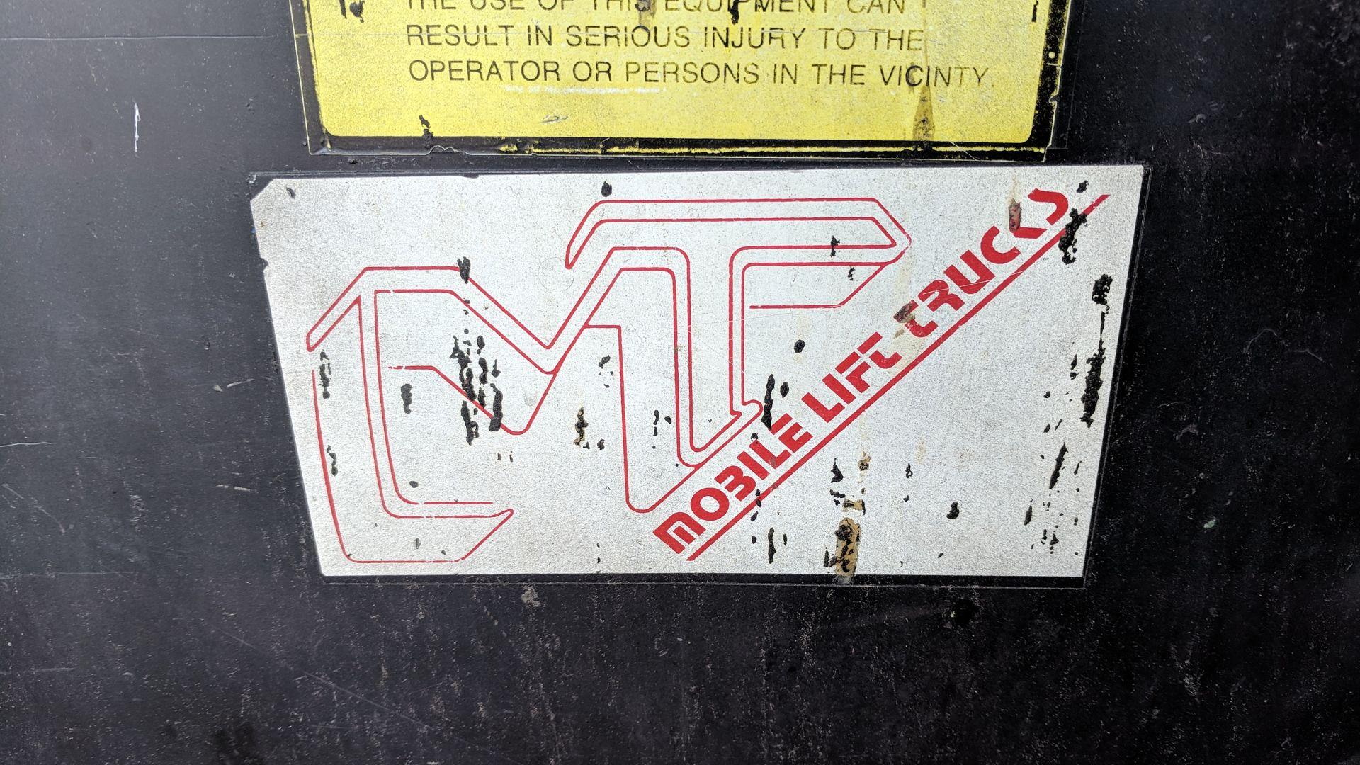 Lot 28 - MT ELECTRIC DIE CART, S/N 43386E