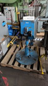 "Lot 32 - LITTELL 5501 12"" CAPACITY UNCOILER, S/N S-1631/73 (CI)"