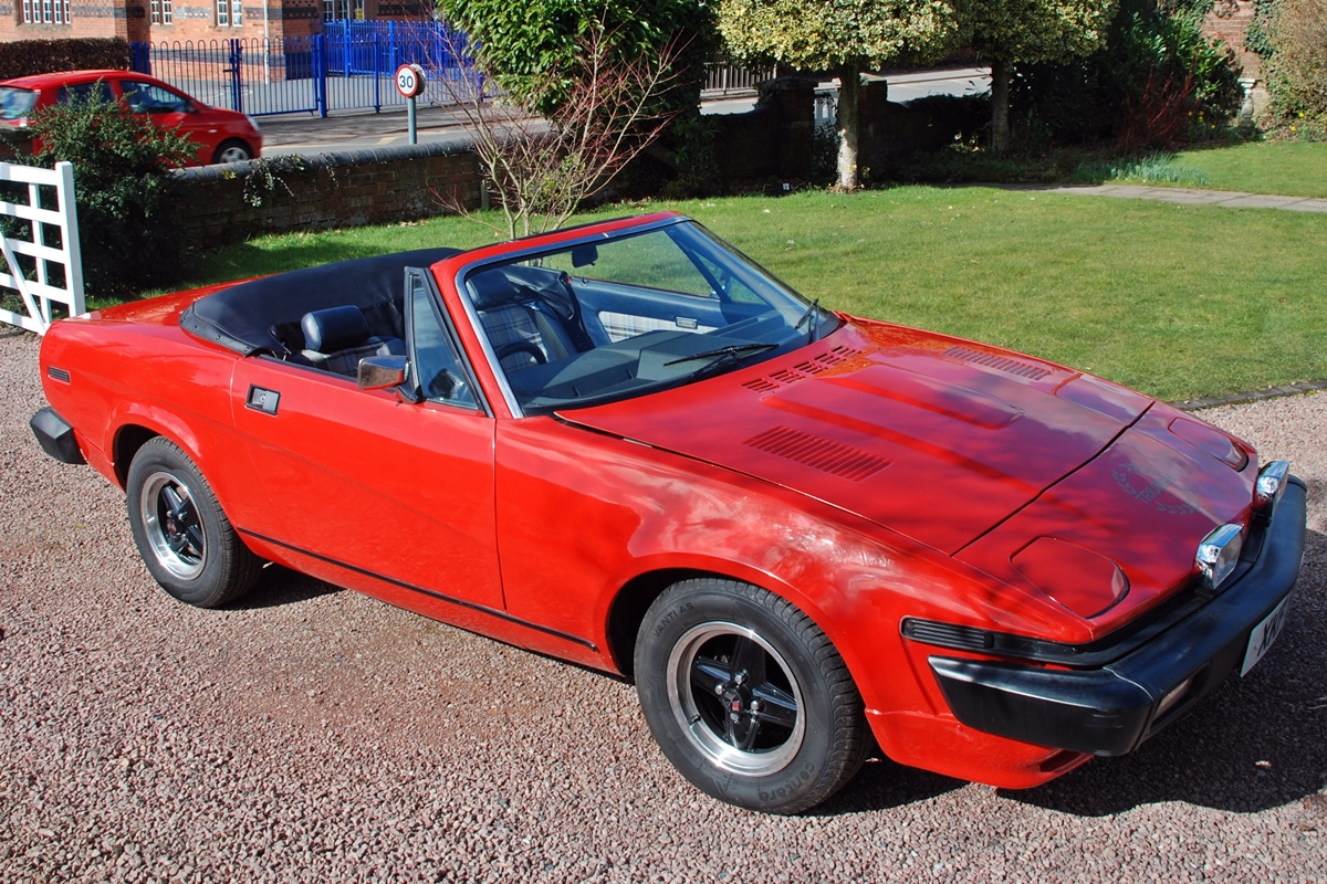 1980 Triumph TR7 Convertible Having owned a few classic cars ...