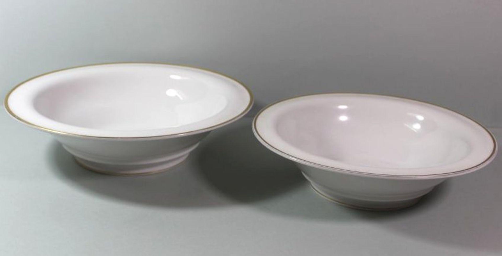 Los 1060 - Paar gr. Schalen, Rosenthal, Goldrand, älter, Größte H-7cm D-27c