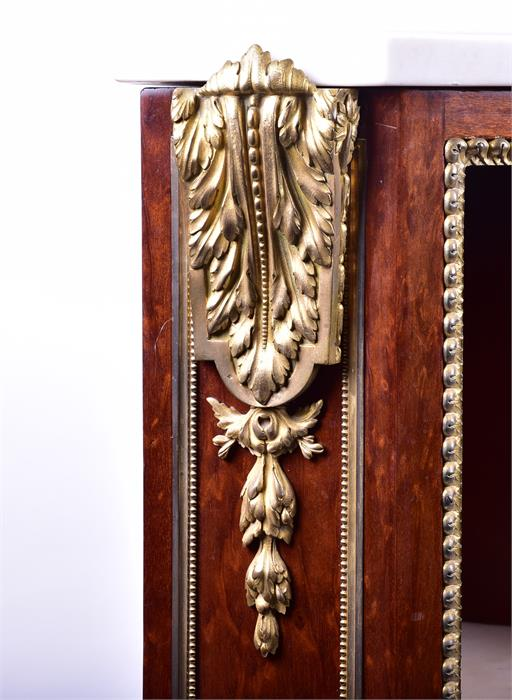 A late 18th century Louis XVI style ormolu mounted mahogany corner cabinet by Jean Henri Riesener ( - Image 4 of 14