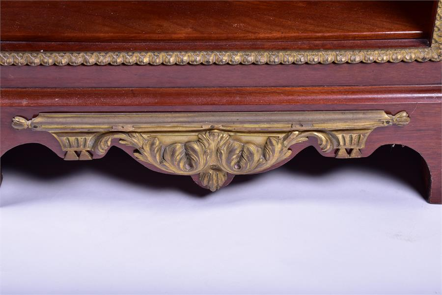 A late 18th century Louis XVI style ormolu mounted mahogany corner cabinet by Jean Henri Riesener ( - Image 6 of 14