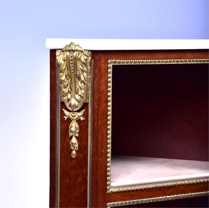 A late 18th century Louis XVI style ormolu mounted mahogany corner cabinet by Jean Henri Riesener ( - Image 12 of 14