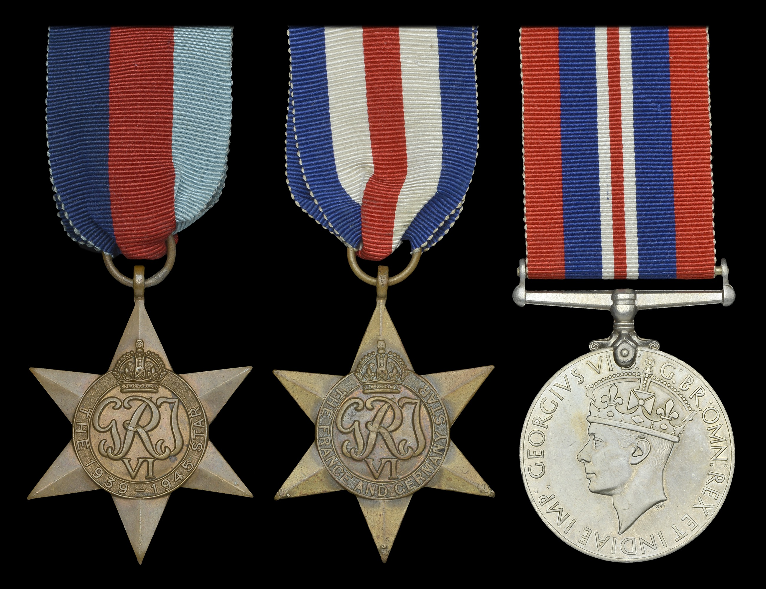 A Collection of Medals to Second World War Casualties