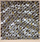 Bramke, ErdmutMischtechnik auf Papier auf Unterlagenkarton geklebt, 30,4 x 30,2 cmOhne Titel (1973)