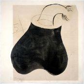 Castrortega, PedroCollage, schwarze Tusche und Graphit auf Büttenkarton, 37,5 x 37,5 cmOhne Titel (