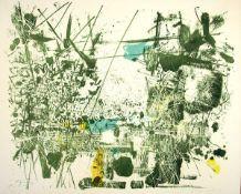 Berke, HubertFarblithographie auf Bütten, 43 x 54,5 cmOhne Titel (1959)Signiert und datiert.