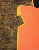 Brillant, GilouFarbradierung und Carborundum auf Chiffon de la Dore Bütten, 64,9 x 51 cmLes
