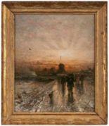 Lot 52 - Gemälde Ludwig Munthe1841 Aro (Sundal) - 1896 Düsseldorf Landschaftsmaler, zuerst Schüler von F.