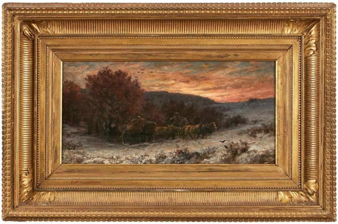 Lot 40 - GemäldeAdolf Schreyer und Jakob Maurer 1828 Frankfurt - 1899 Frankfurt und 1826 Obereschbach -