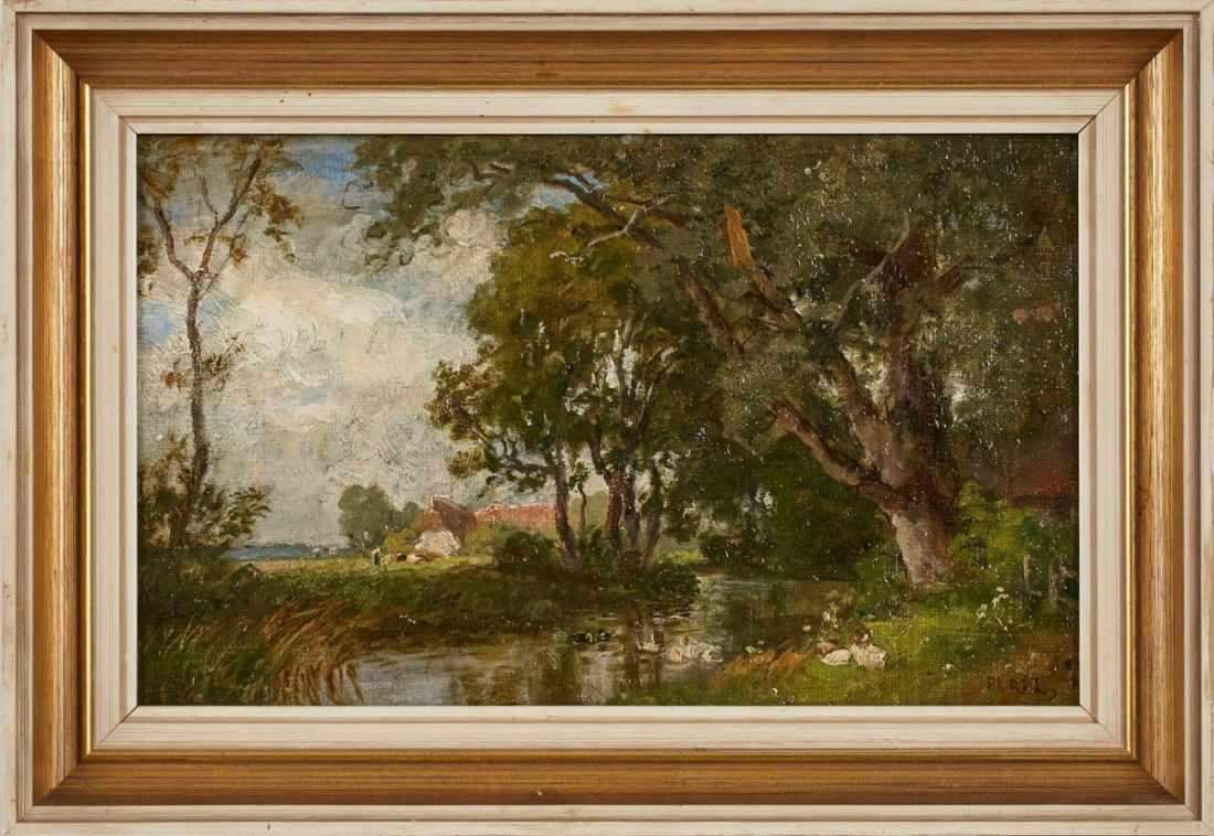 Lot 46 - Gemälde Philipp Röth1841 Darmstadt - 1921 München Zeichenausbildung bei August Lucas und Karl Ludwig
