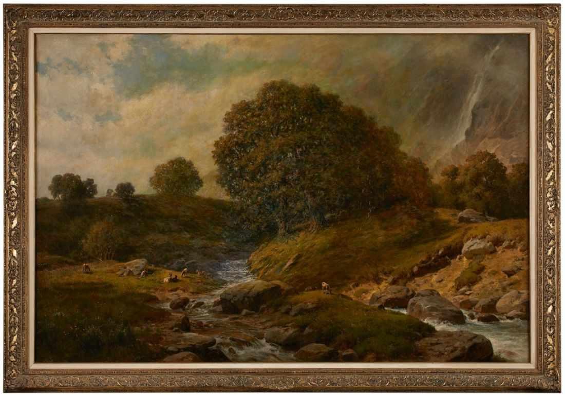 Lot 51 - Gemälde Paul Weber1823 Darmstadt - 1916 München Studium in Frankfurt und München, 1846/47