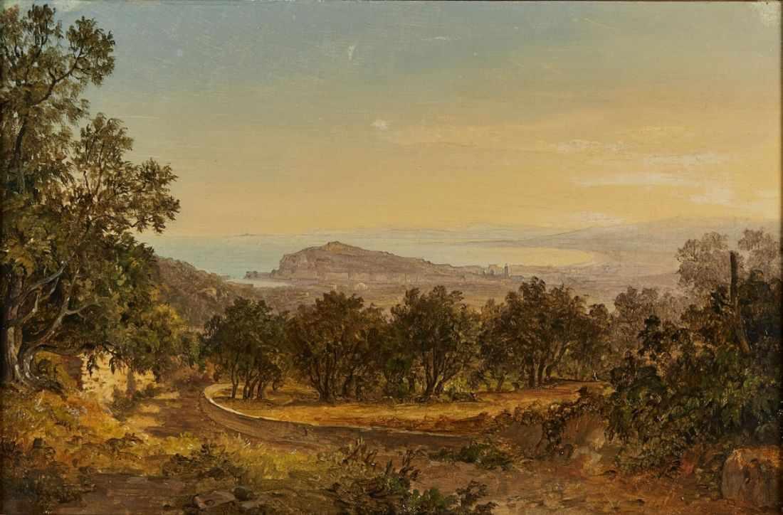 Lot 16 - Gemälde Carl Morgenstern1811 Frankfurt - 1893 Frankfurt Landschaftsmaler. Sohn des Joh. Friedr.,