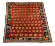 A woven rug