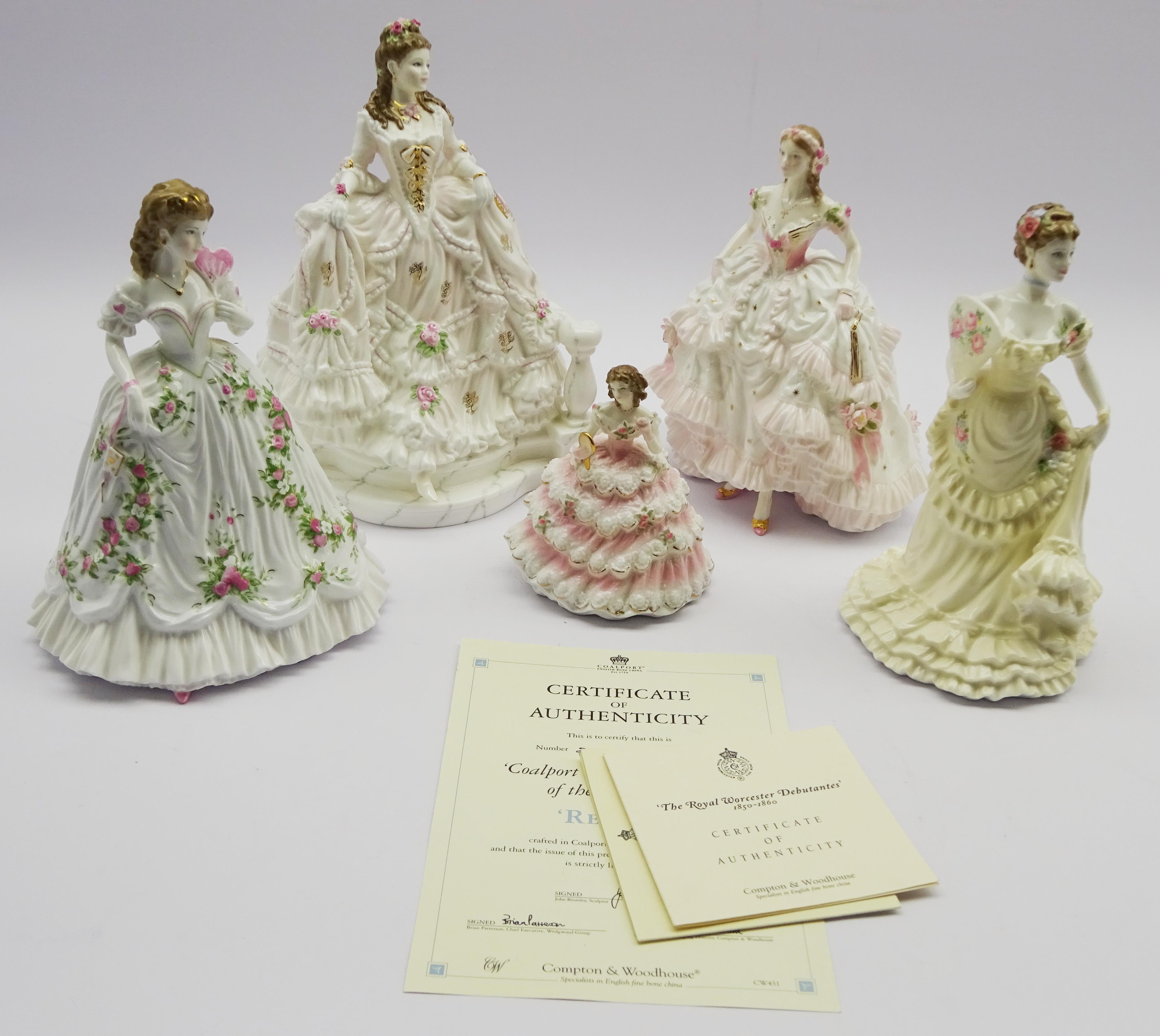 Lot 52 - Two Royal Doulton figures 'Royal Debut',