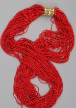 Lot 41 - A Red Coral Necklace
