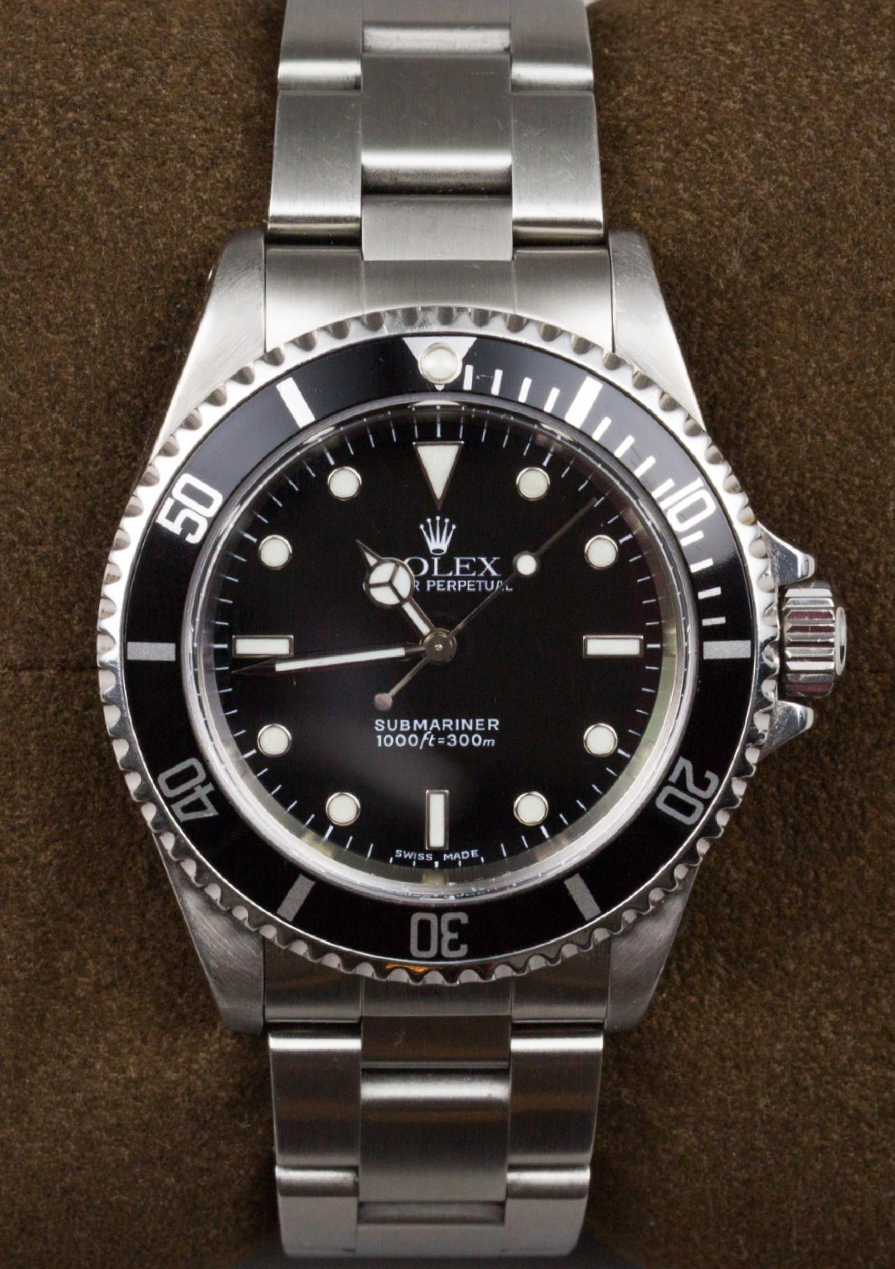 Lot 31 - ROLEX, Rolex Submariner