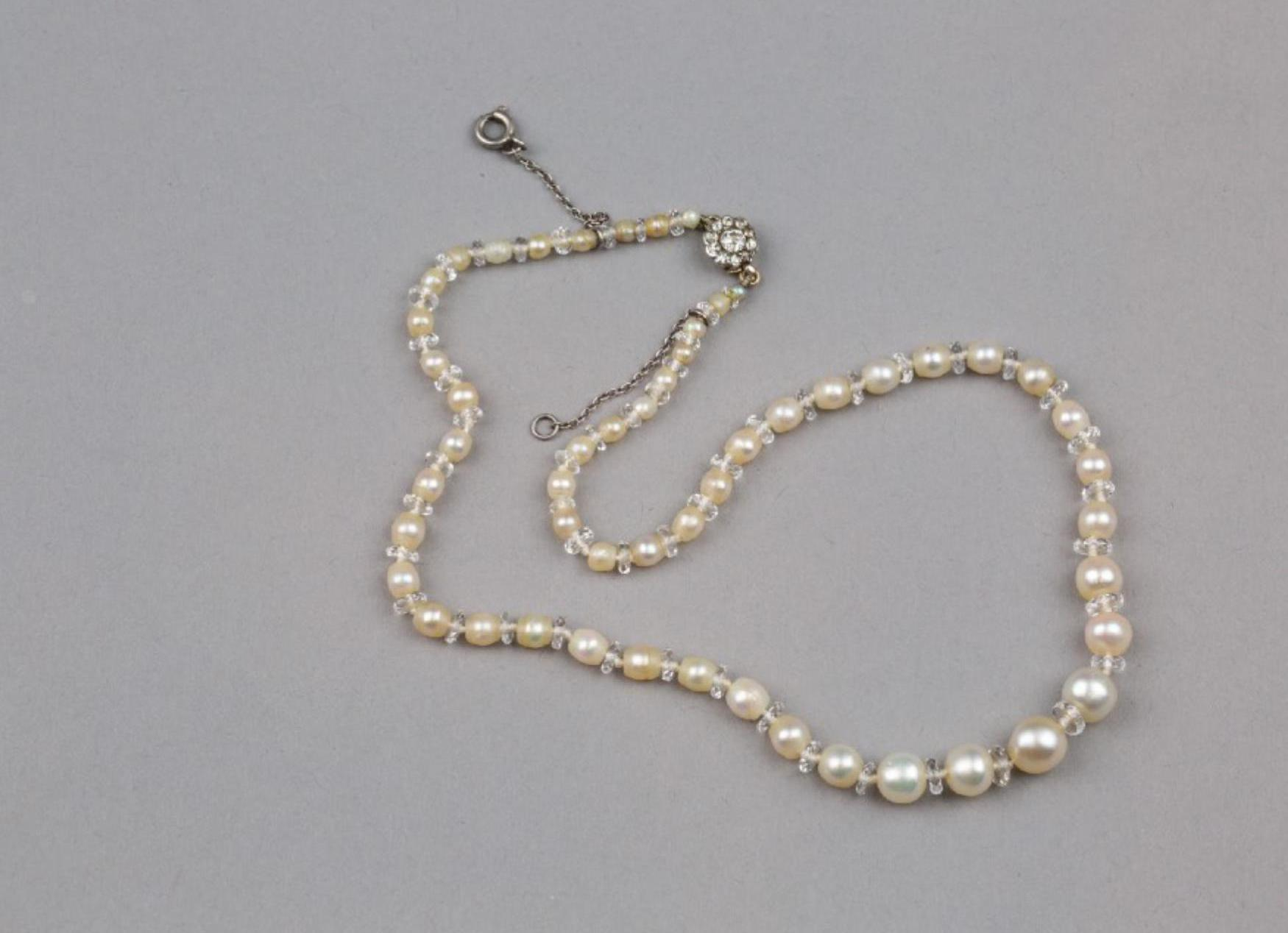 Lot 60 - A Wild Seawater Pearls Necklace