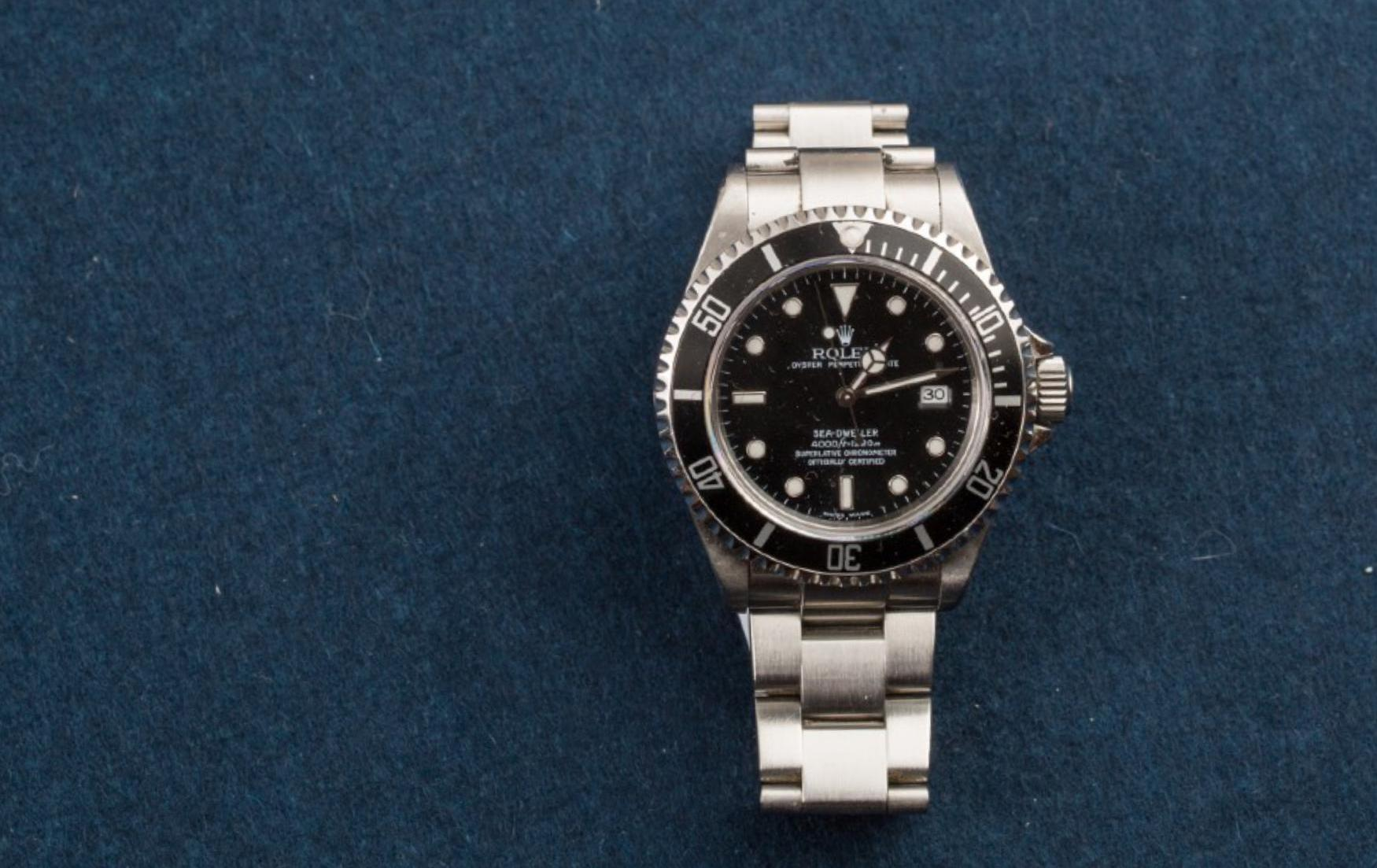 Lot 9 - ROLEX, Oyster Perpetual Date Sea Dweller stainless steel watch, Circa 2005