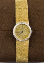 Lot 29 - PIAGET, A Lady's 18K Gold and Diamond