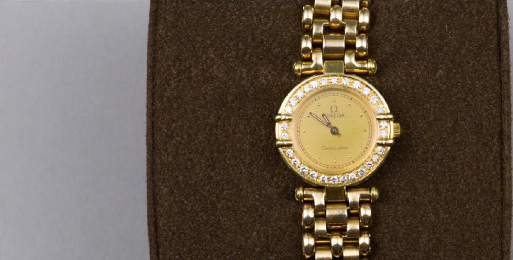 Lot 35 - OMEGA, Lady's Constellation Watch