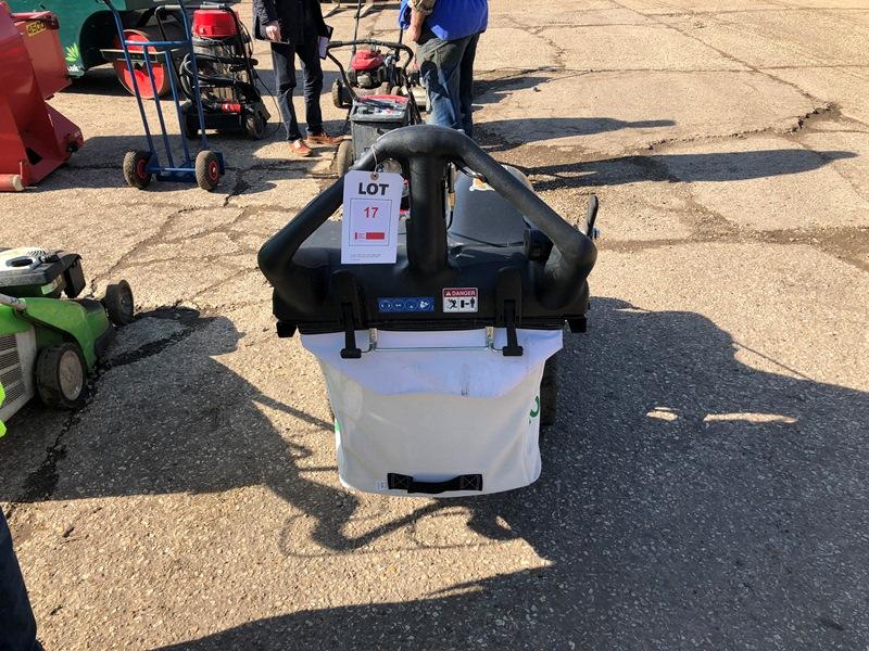Lot 17 - Billy Goat MV650SPH wheeled leaf vacuum with Honda GSV190 petrol engine Serial No. 030716164