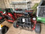 "Lot 23 - Ferris 36"" pedestrian mower with Kawasaki FH580V petrol engine (missing guards and incomplete for"