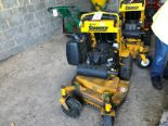 Lot 13 - Wright Stander small frame mower with Kawasaki FS 541v petrol engine Hours: 1,175