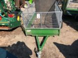 Lot 25 - TFM Engineering lightweight trailer to suit Quadbike or compact tractor (contents not included)