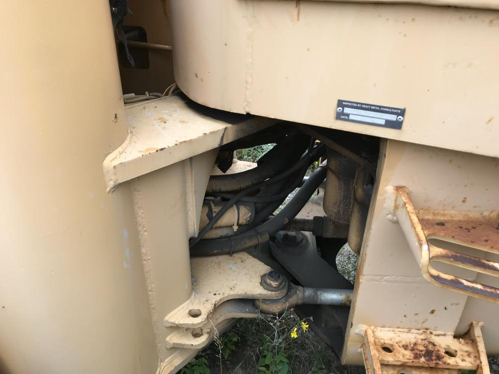 Lot 37 - 1981 Chargeur sur roues John Deere 644C, hres n/d, à inspecter #254 transmission chauffe Série: