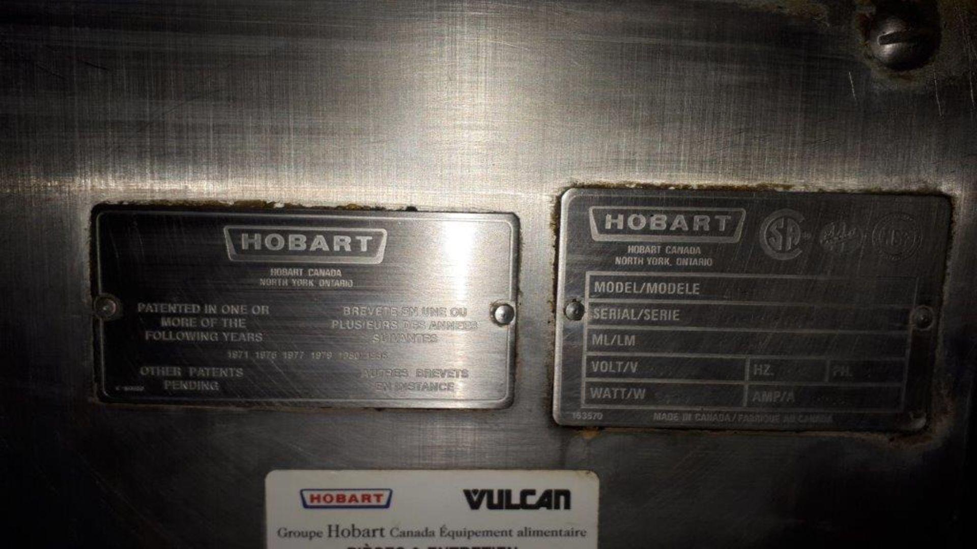 Hobart stainless steel dishwasher, model: AM14 - Image 4 of 7