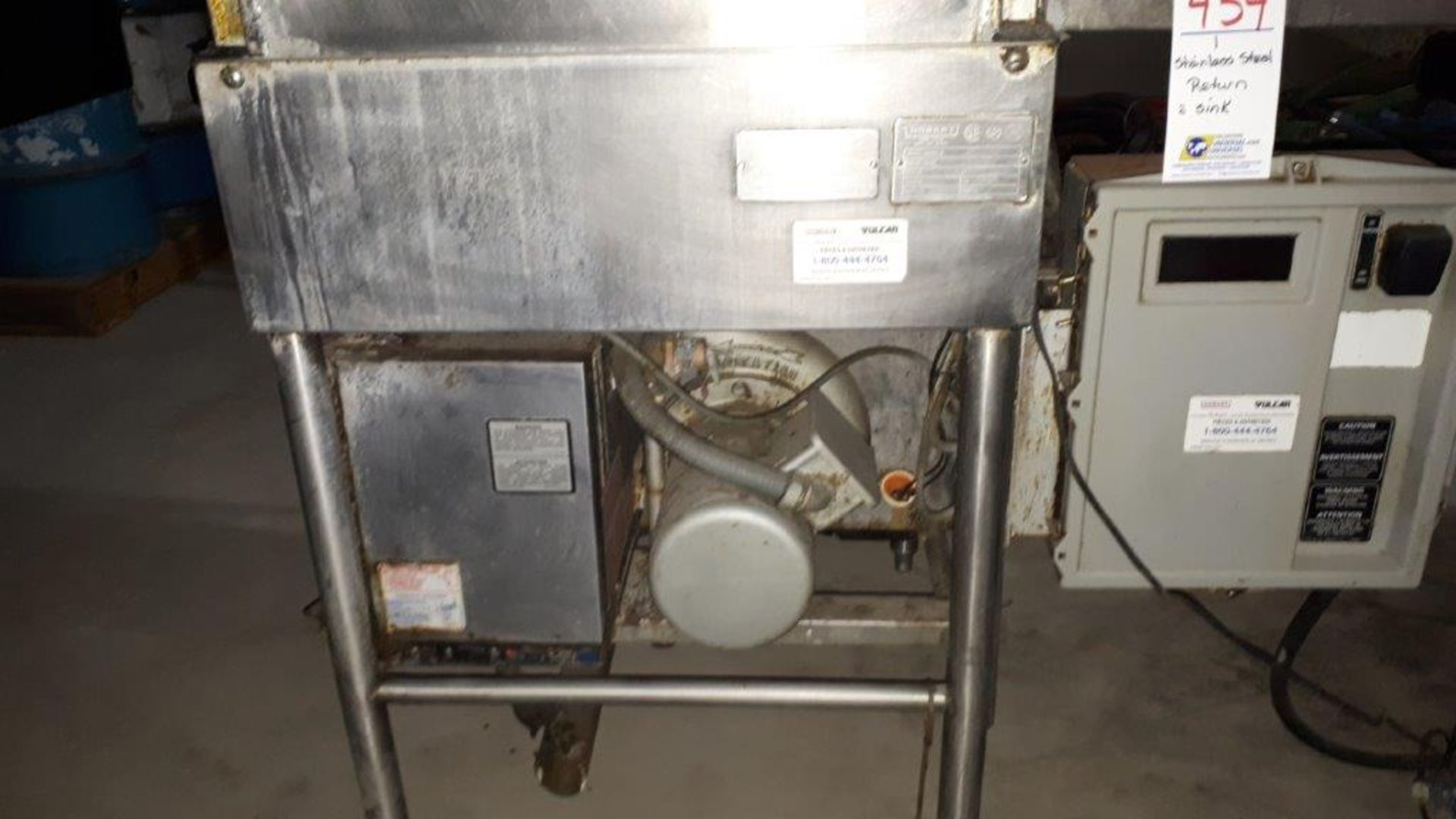 Hobart stainless steel dishwasher, model: AM14 - Image 3 of 7