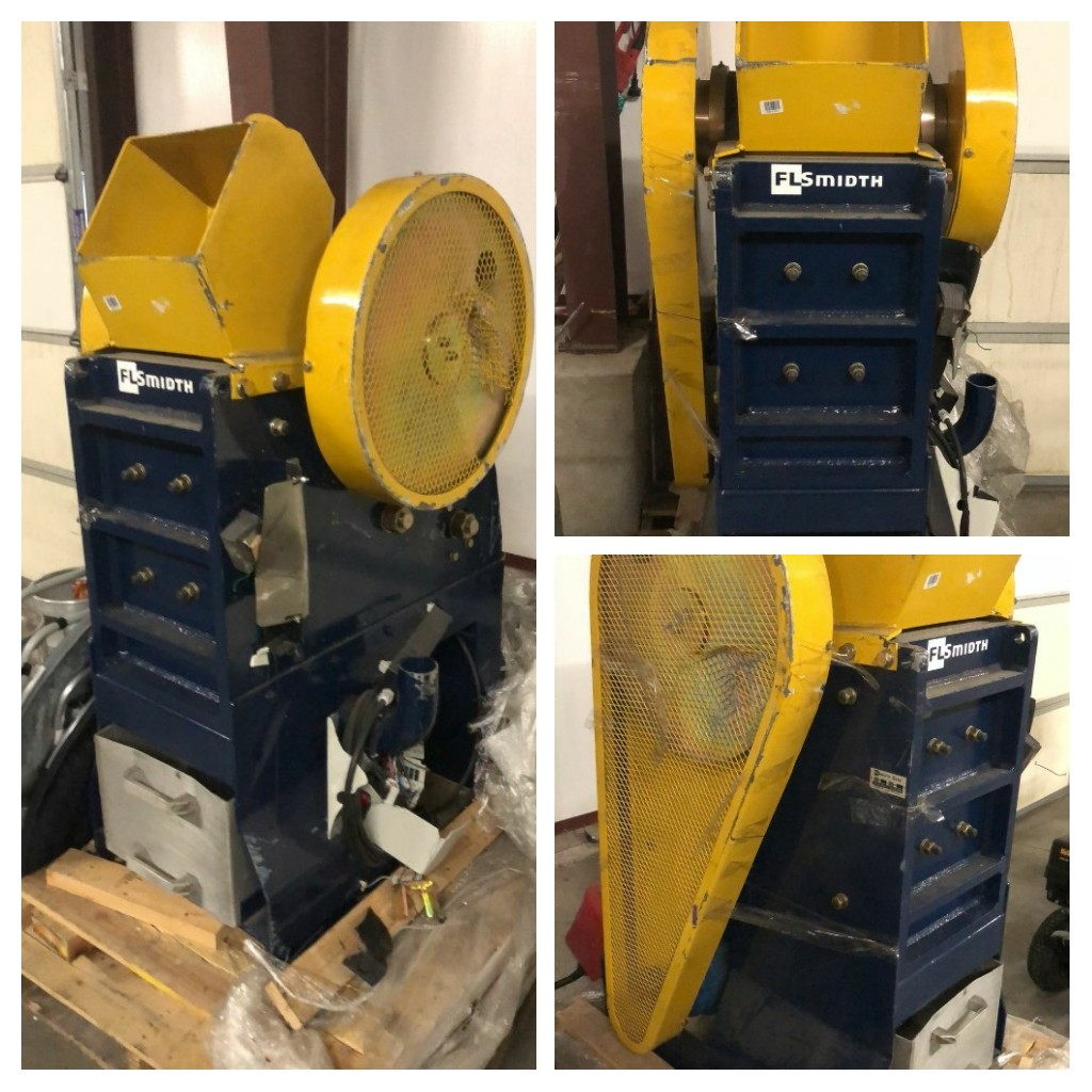 Lot 1 - Essa Upright Jaw Crusher