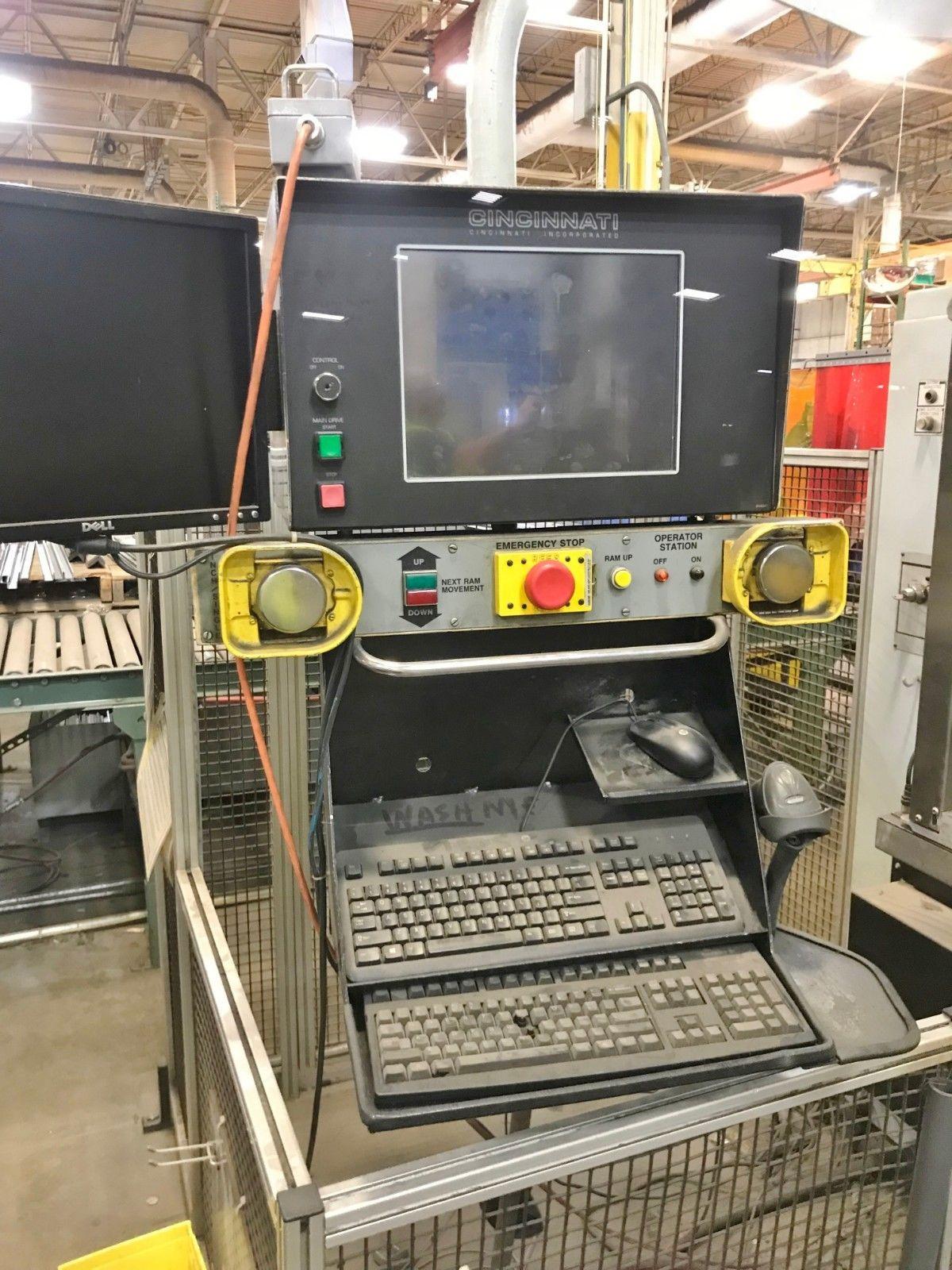Lot 7 - Cincinnati CNC Autoform Press Brake - 135 Tons