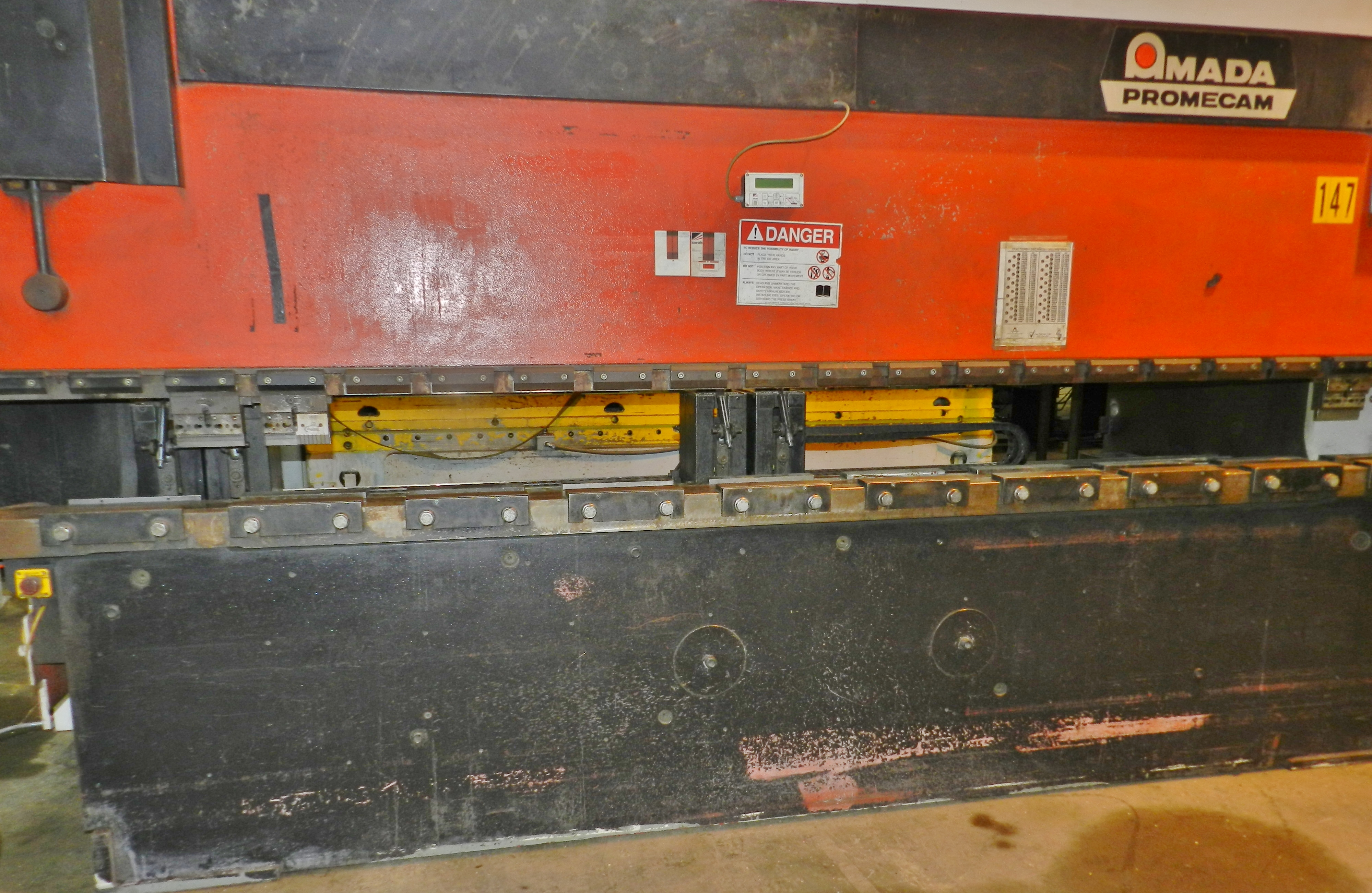 Lot 28 - Amada Promecam 138 Ton CNC Press Brake