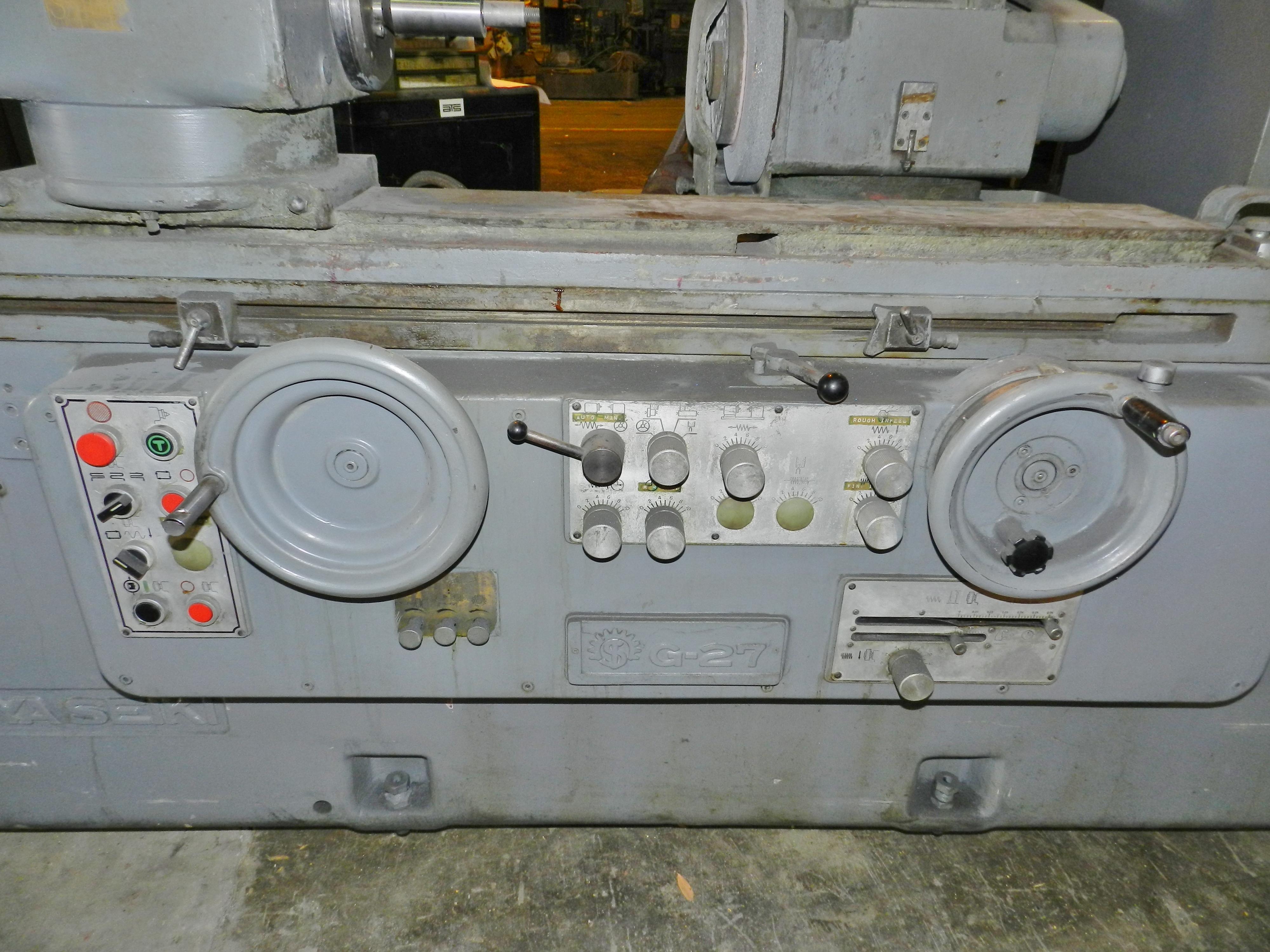 Lot 59 - Shigiya Seiki GUA-27-100 Cylindrical ID/OD Grinder G-27